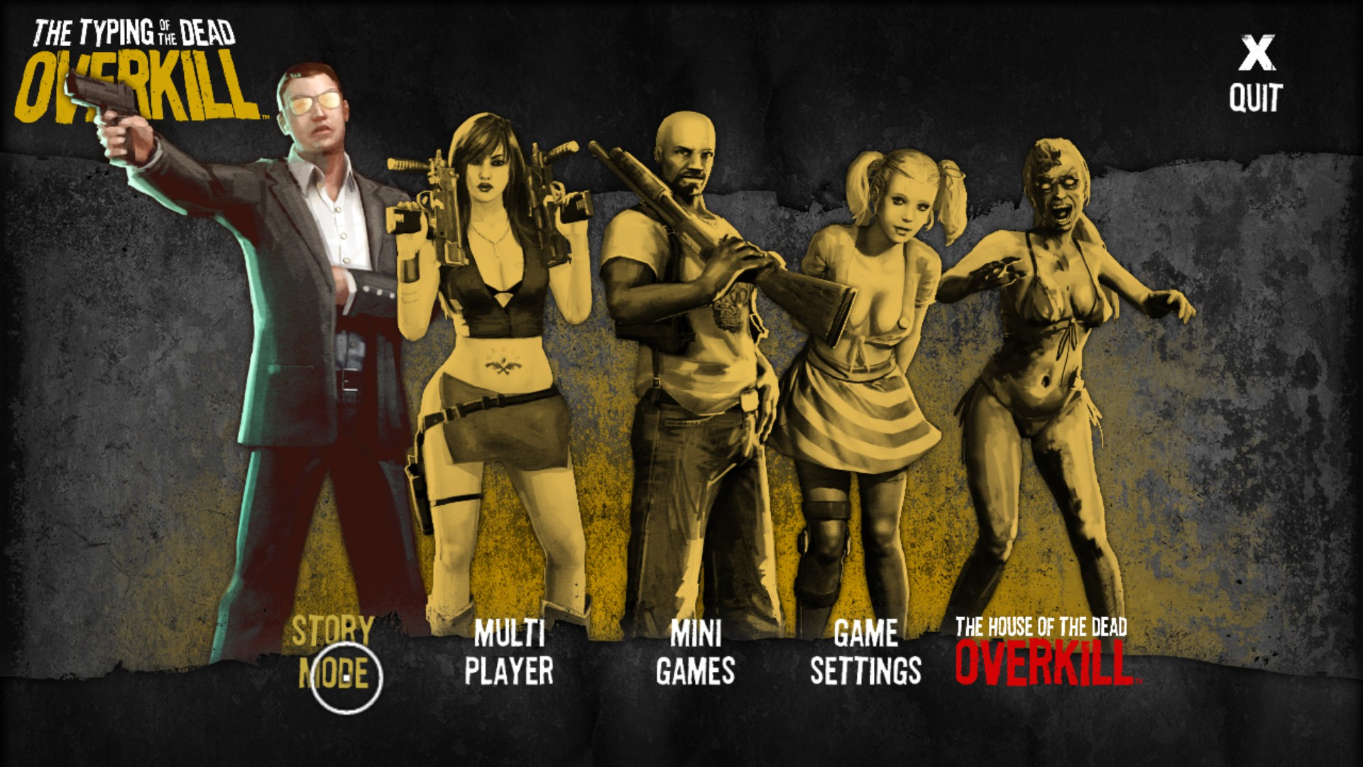 The House Of The Dead Overkill Pc Game Download Free